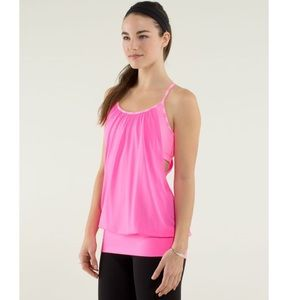 Lululemon No Limits Tank Top Hot Pink